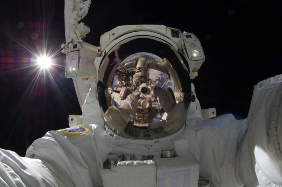 Seflie Blog Astronaut
