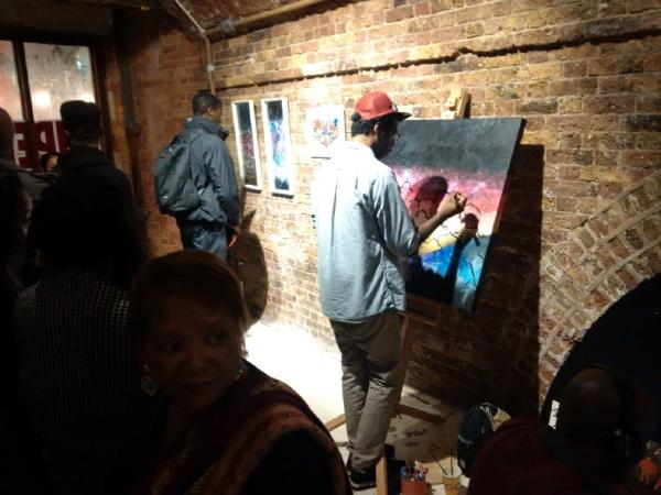 Supermalt Art Exhibition Launch Party