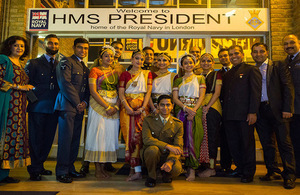 Celebrating Diwali with the Armed Forces Hindu Network