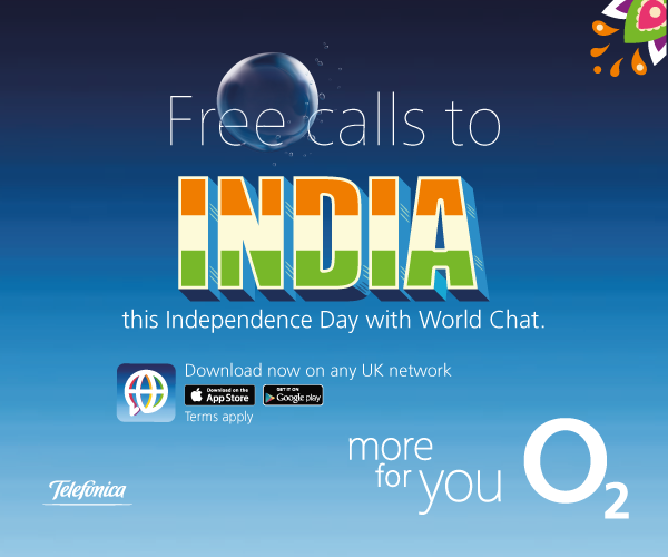 World Chat unfurls the flag this Independence Day with free calls to India