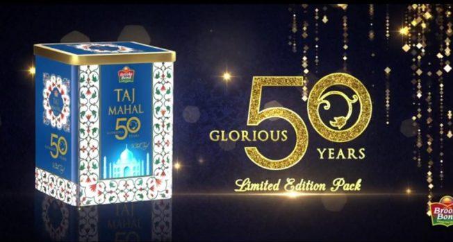 Celebrating 50 glorious years in style - Wah Taj!
