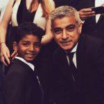 Rising Star Sunny Pawar with Mayor of London Sadiq Khan