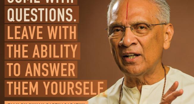 Vedanta Institute London celebrates Swami Parthasarathy's 90th Birthday