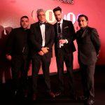 L-R: Naughty Boy, Manish Tiwari, Sunny Arora and Sanjeev Bhaskar