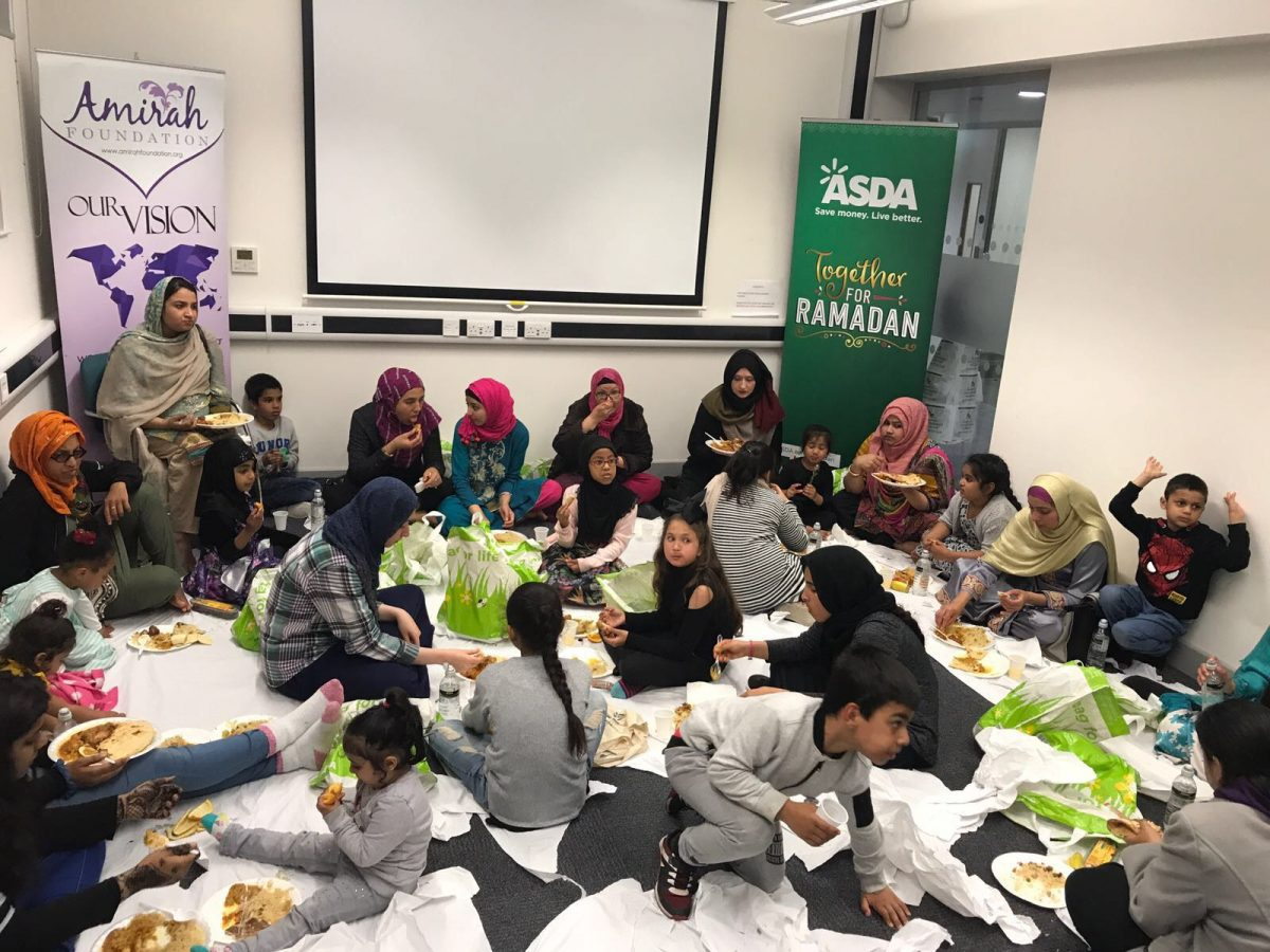 Asda partners with Charities for Iftar Drives across the UK this Ramadan