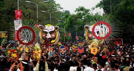 Celebrating Pohela Boisakh!