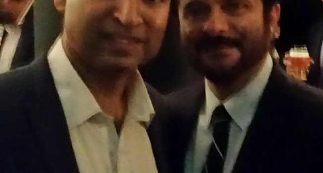 Celebrating the success of 24 with Anil Kapoor