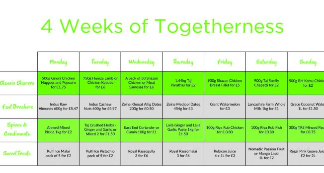 Four Weeks of Togetherness with Asda this Ramadan