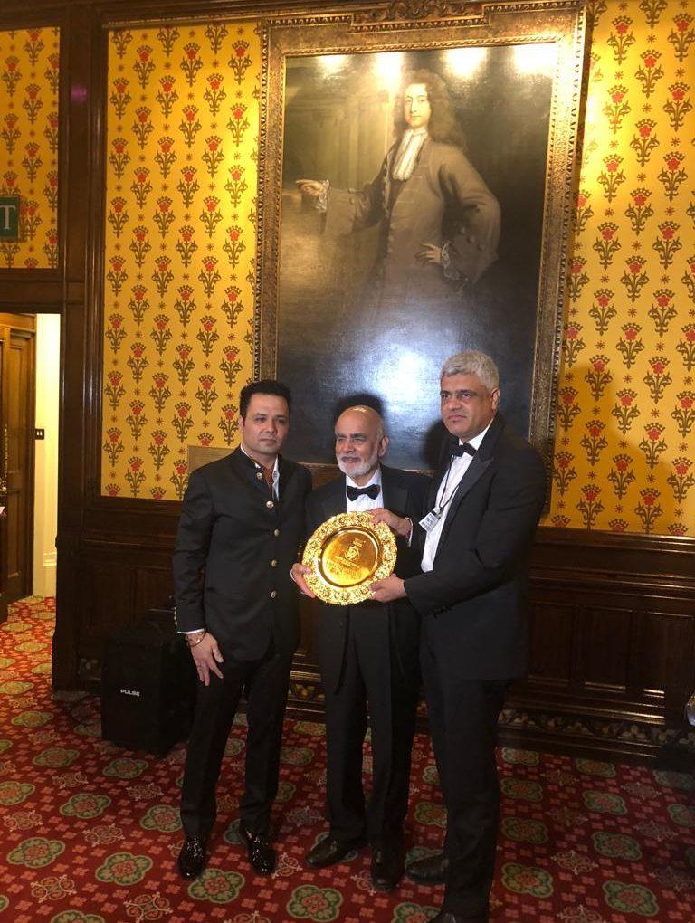 Manish Tiwari honoured with the Pride of India Award
