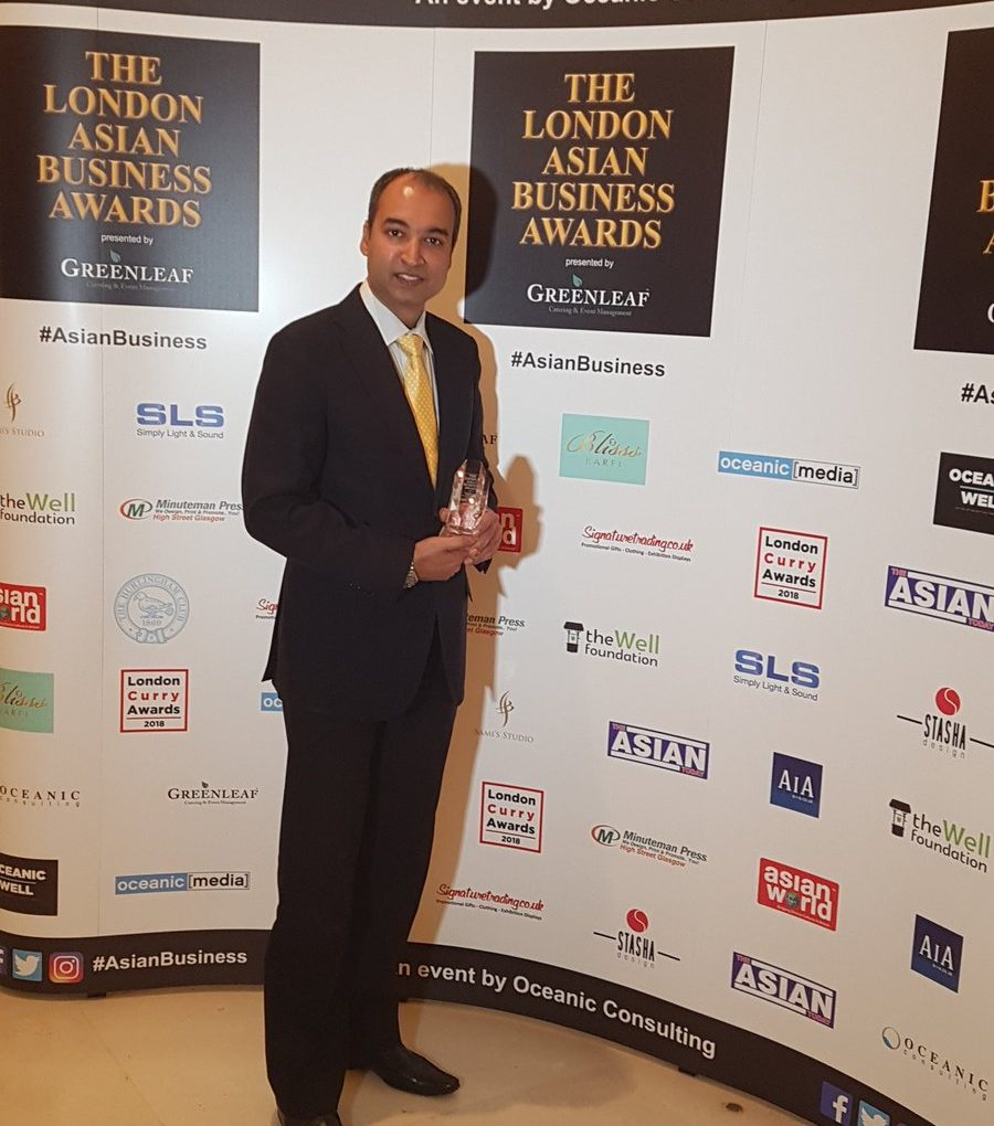 Here and Now 365 wins big at the London Asian Business Awards!