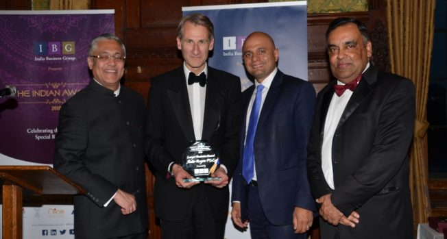 Celebrating India-UK's special relationship at the Indian Awards 2018
