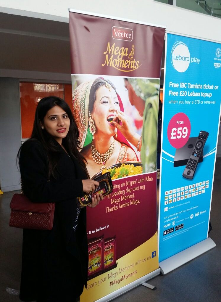 Veetee makes a mark at the IBC Thamizha London