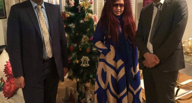 Shahnaz Husain talks about her ambition for the UK and her upcoming movie