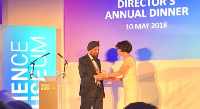 Dr Kartar Lalvani OBE awarded the Science Museum Group Fellowship