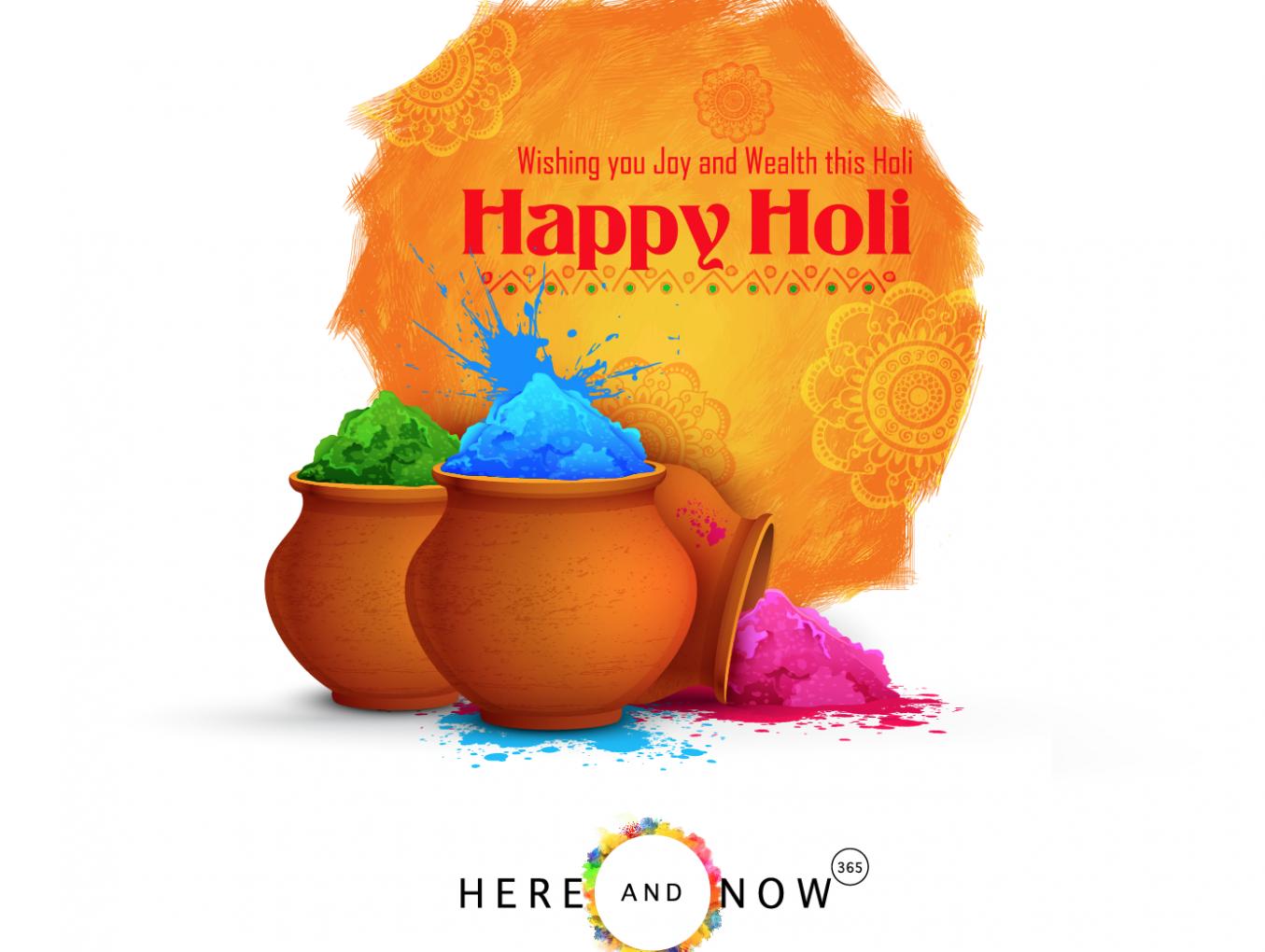 Celebrating the Festival of Colours