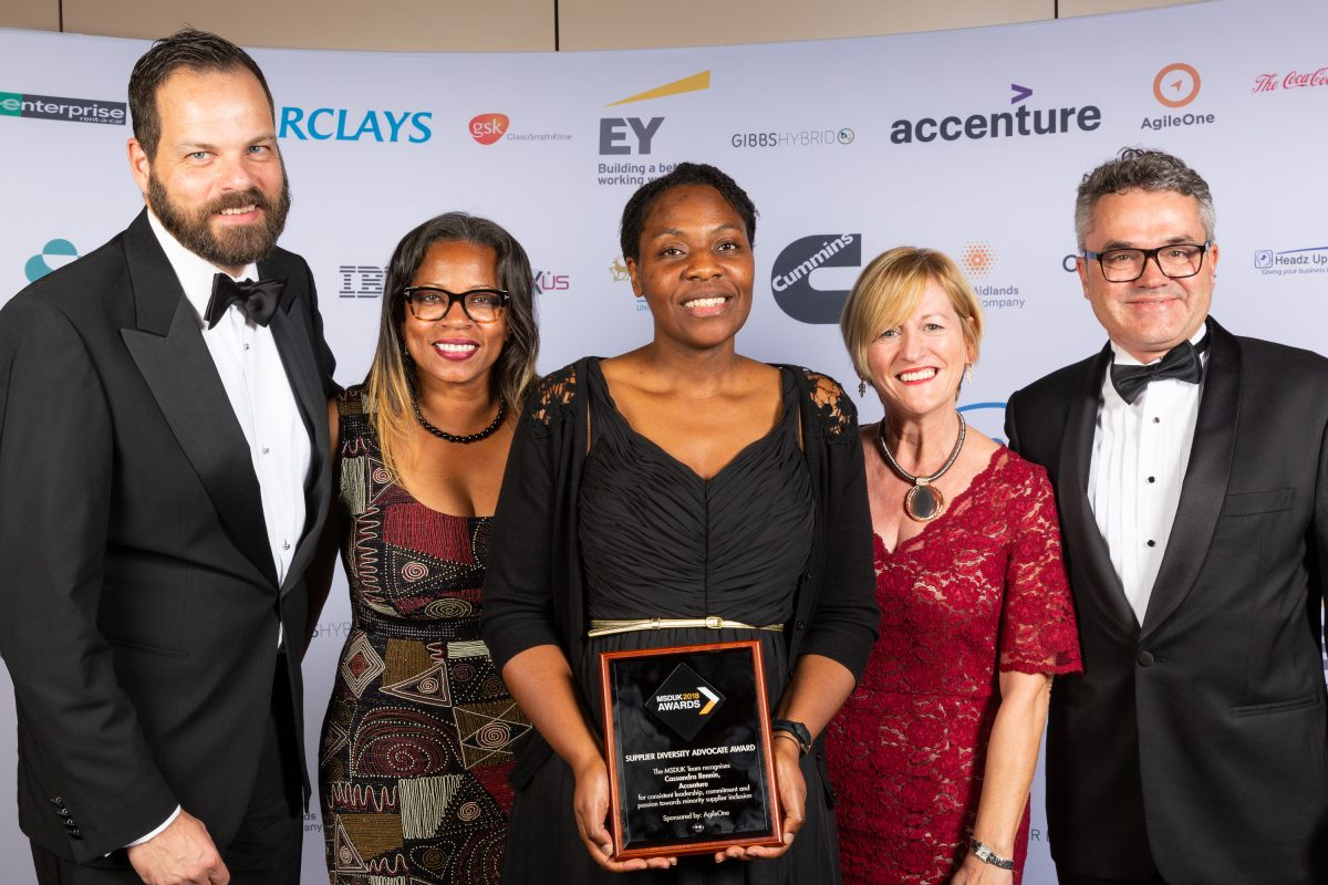 MSDUK bridges the supply chain between BAME businesses and corporate giants