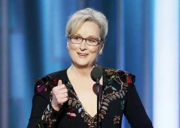 Meryl Streep's Golden Globe's speech is truly global