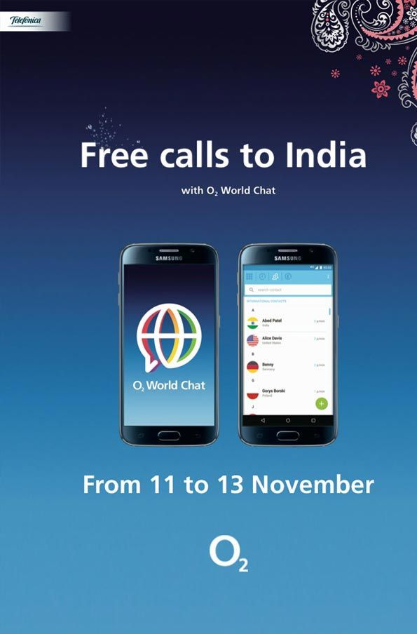 Festive tactical campaign to promote O2 World Chat.