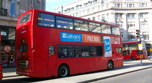 Lebara Half-price Data: Our Latest Double Decker Ad Campaign