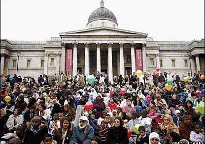 Top 5 Eid celebrations in the UK
