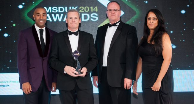 Award honours for black and ethnic minorities at the end of Supplier Diversity Week