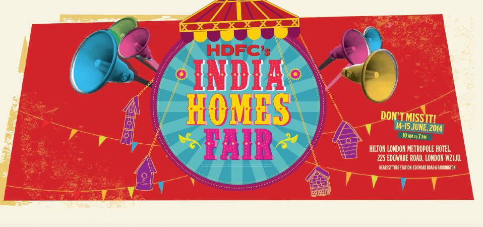 HDFC'S India Homes Fair 2014