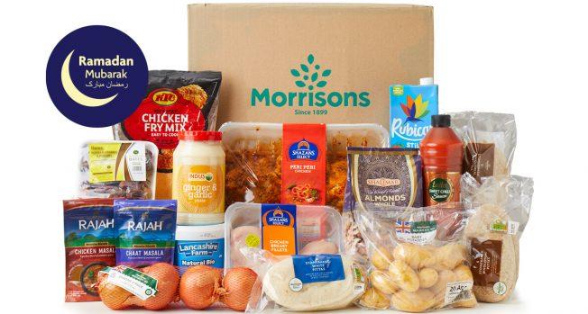 Morrisons Ramadan Food Box Reviewed by Dina Tokio