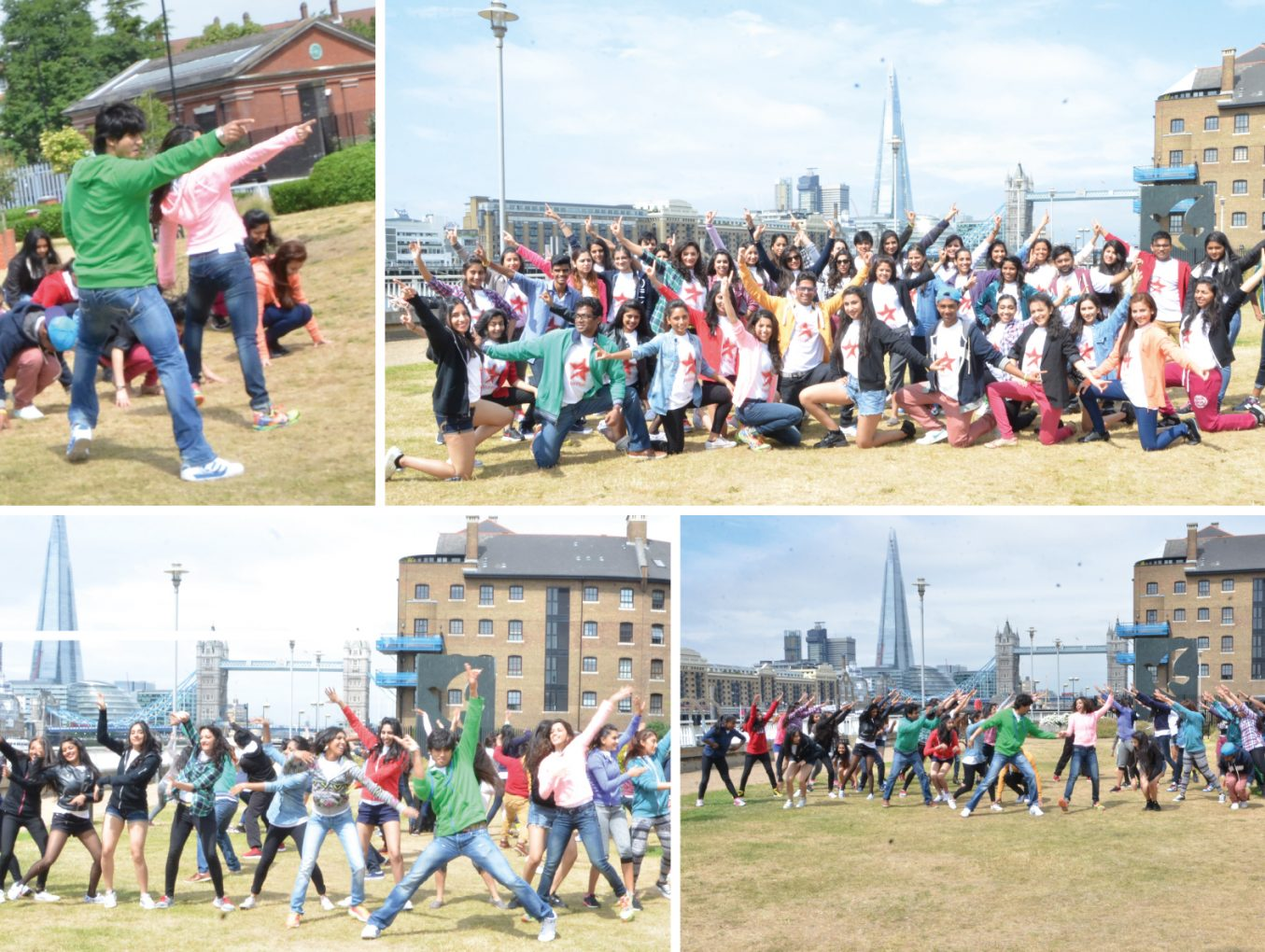 UK's biggest Bollywood flashmob, inspired by dance show  Nach Baliye on Star Plus