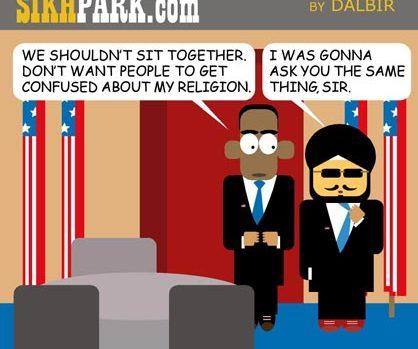 Cartoon series: Sikh Park