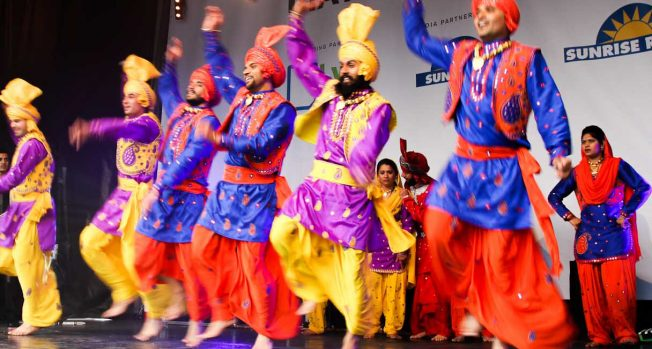 Celebrating Vaisakhi on the Square