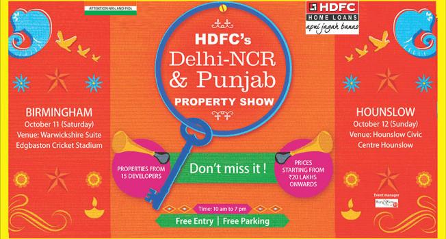HDFC's Delhi NCR & Punjab Property Show