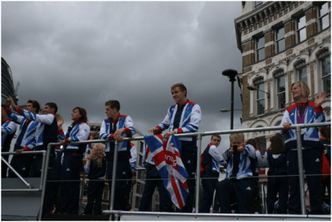 London 2012 Olympics Final Parade
