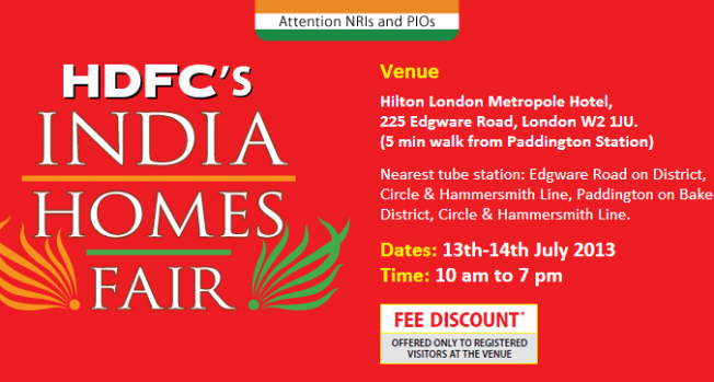 HDFC India Homes Fair 2013