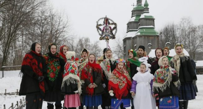 Orthodox Christian across the world celebrate Christmas