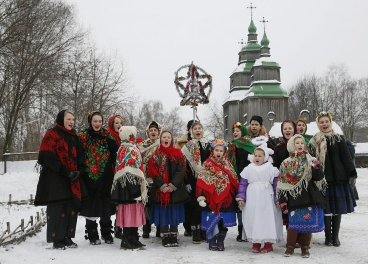 Orthodox Christian across the world celebrate Christmas