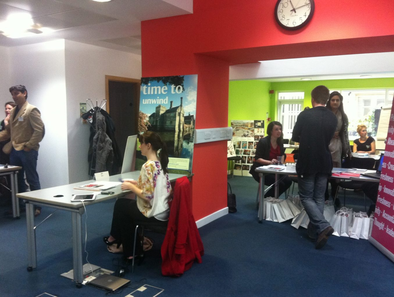 Live from the IPA's Grad Recruitment Fair 2012!