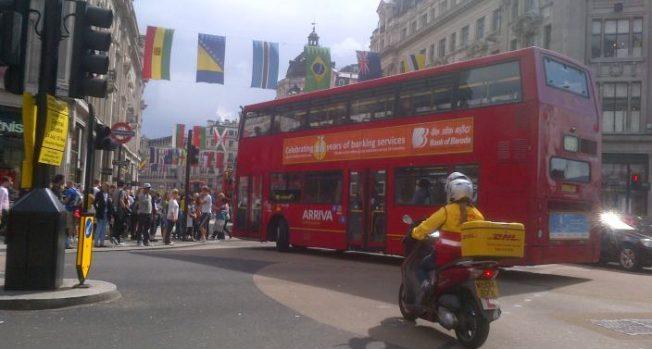 Bank Of Baroda Bus Ad
