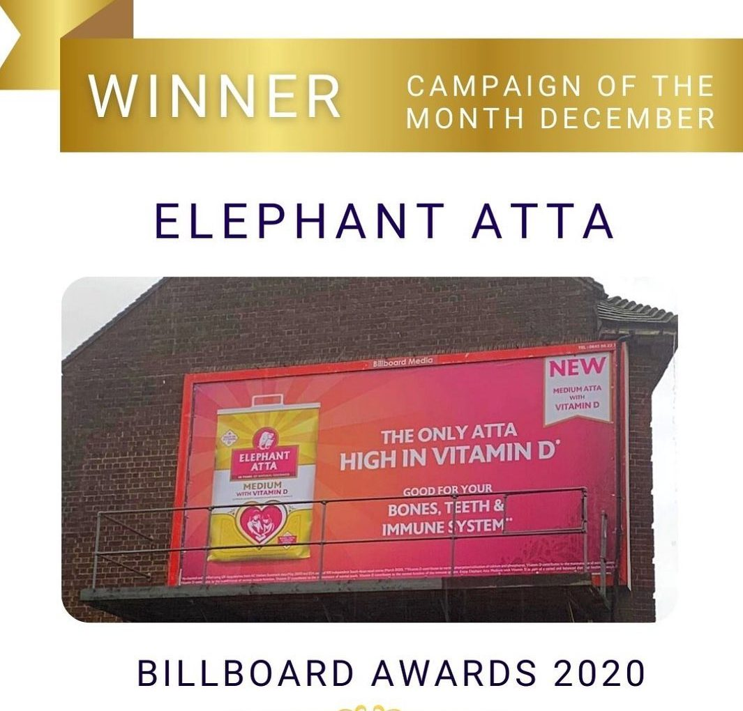 Here and Now OOH campaign wins Billboard awards December 2020!