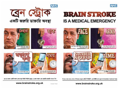 NHS-Brain-Stroke-Posters