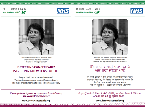NHS Detect Cancer Early Case study