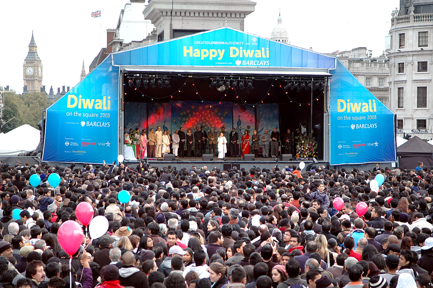 Barclays Diwali on the Square